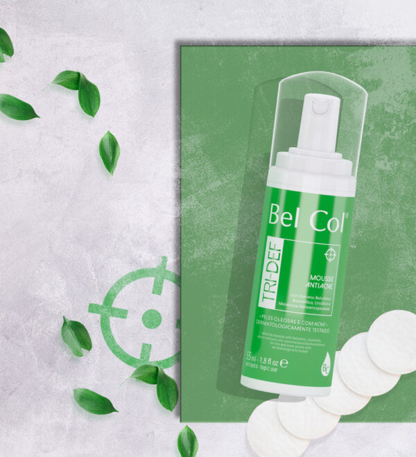 Tri-def Mousse for acne-prone skin