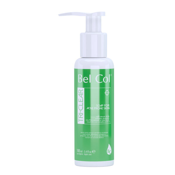 Tri-clear liquid soap acne-prone skin