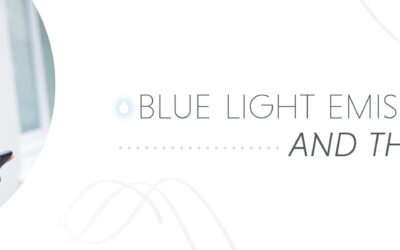 Blue Light Emissions and the Skin